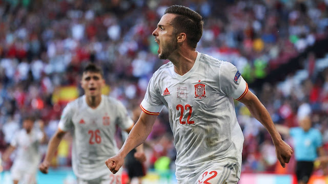 Croatia 3:5 Spain Copenhagen