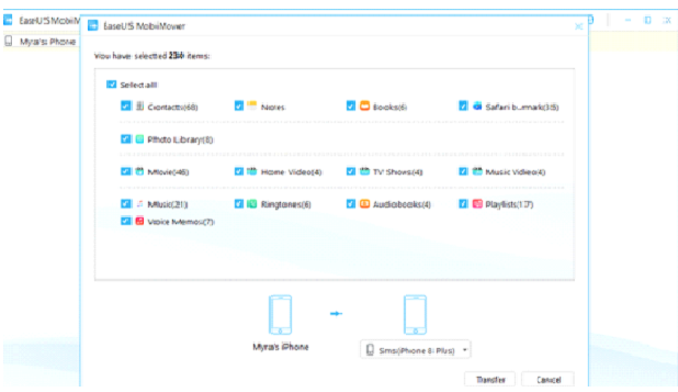 برنامج نقل الملفات من ايفون لاخر او ايباد والتحكم في المحتوى