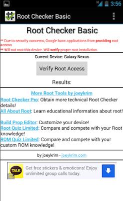 Cara Cek Android Yang Sudah di Root Dengan Root Checker