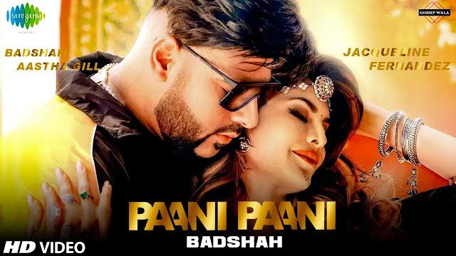 Badshah - Paani Paani ( Mp3 Song Download ) - 320kbps