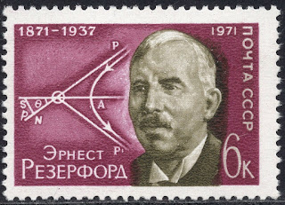 Russia 1971 - Ernest Rutherford - New Zealand Physicist