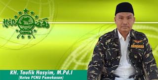 Ketua PCNU Pamekasan Kecam Perusak Baliho Ucapan Selamat Idul Fitri