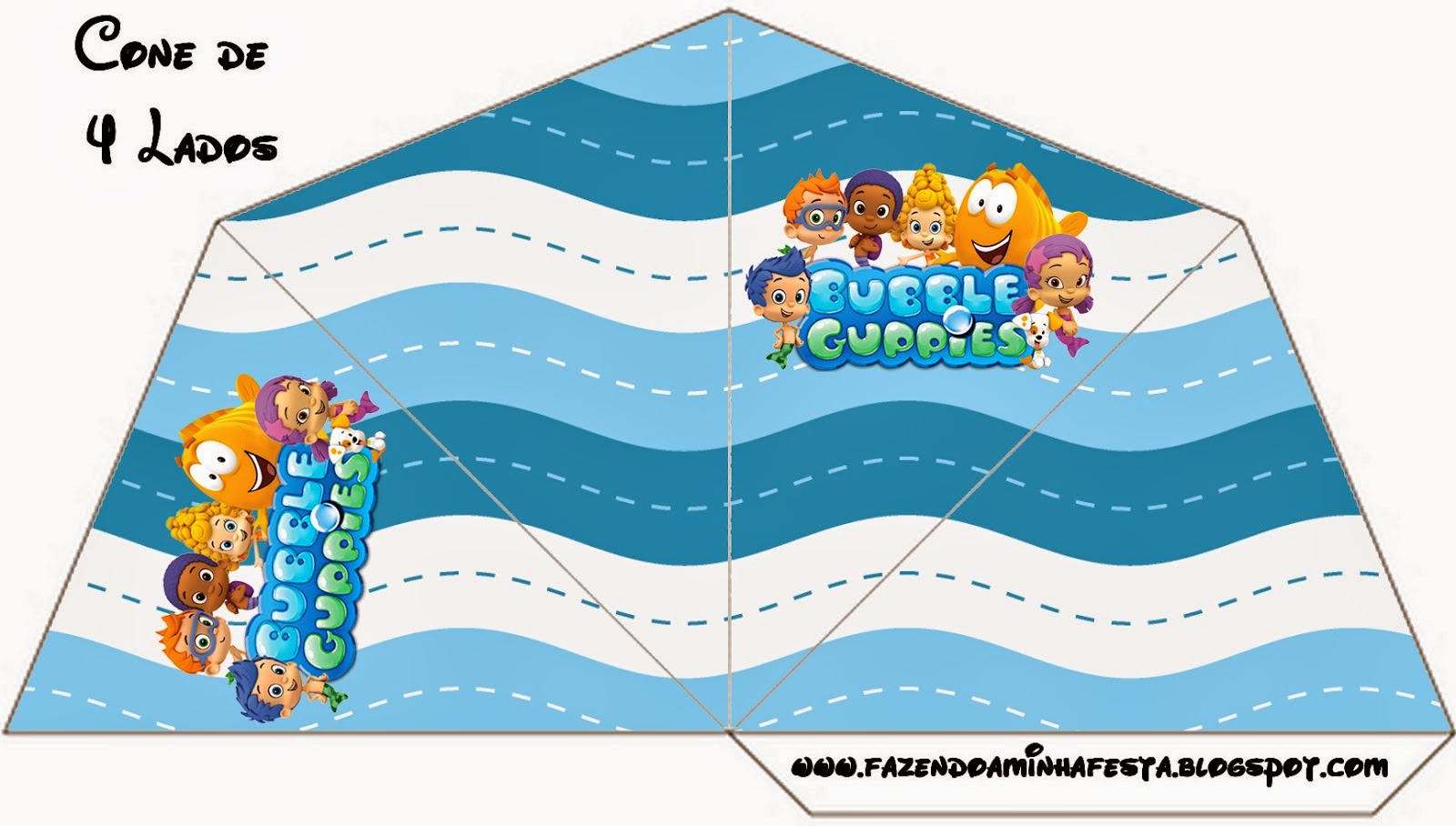 Bubble Guppies Free Party Printables. - Oh My Fiesta! in ...