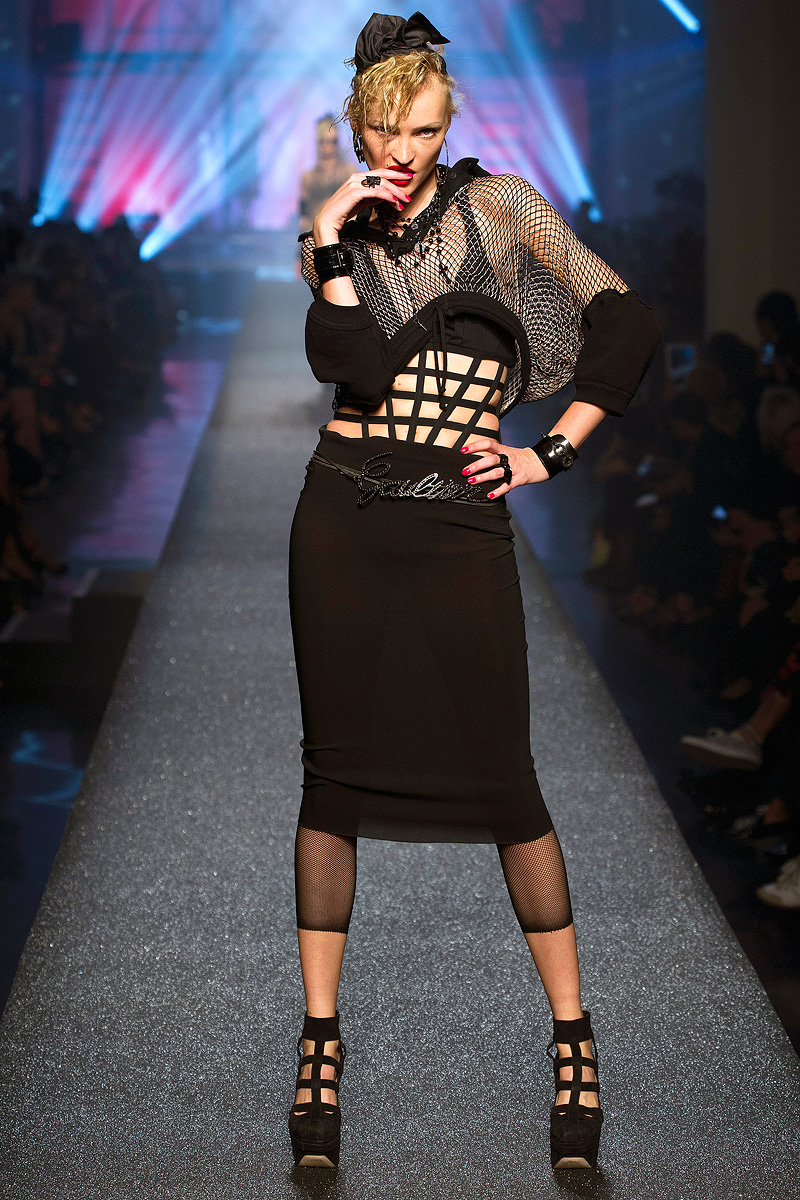 The 80s Fashion Trends That Are Back Today: TREND: THE 80s GO BANG AT JEAN PAUL GAULTIER