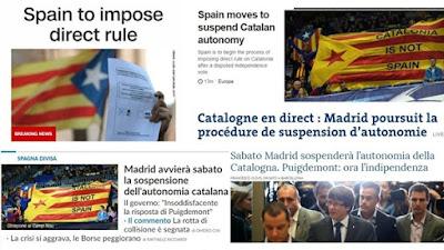 الصحف الدولية: أزمة كتالونيا تدخل النفق المظلم