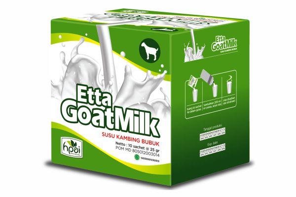 EGM (Etta Goat Milk) - Susu Kambing Bubuk Asli