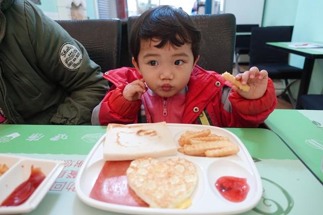 綠元素蔬食早午餐小蘋果