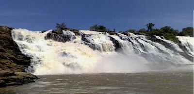 Gurara Falls located between Minna and Suleja in Niger State