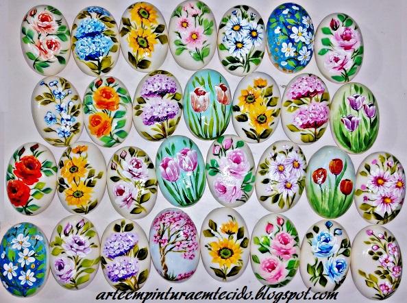 pintura em sabonetes artesanais