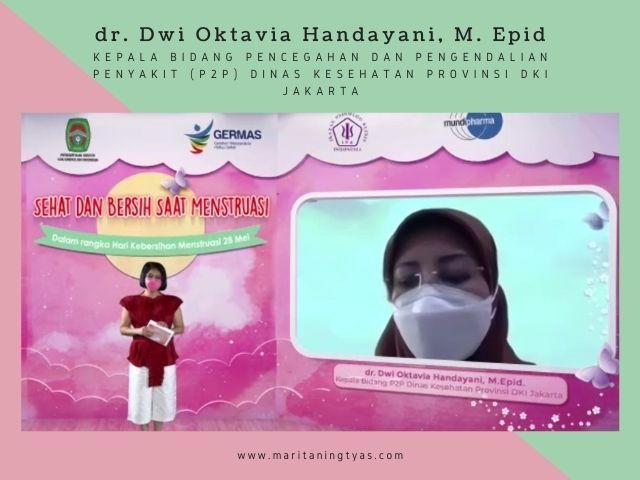 dokter dwi oktavia handayani, m.epid