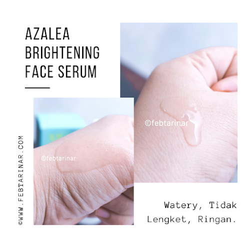 azalea face serum terbaru febtarinar beauty bloggerazalea face serum terbaru febtarinar beauty blogger