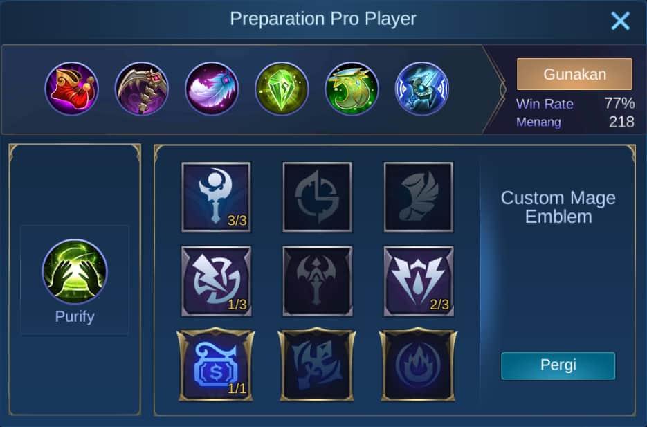 build item esmeralda mobile legends (ML)