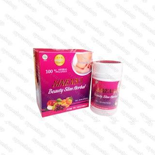 Sinensa Beauty Slim Herbal BSH Original BPOM
