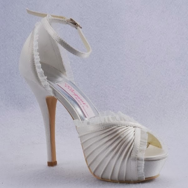 Latest Bridal Shoes Pictures 2014 Collection