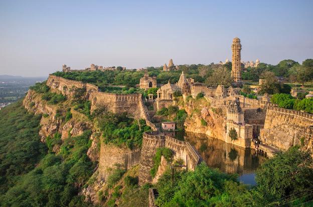 Chittor Fort Tourist Attraction Place Chittorgarh Rajasthan