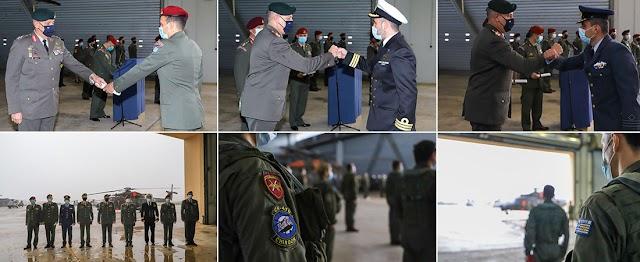 Ο Α/ΓΕΕΘΑ έδωσε τα πρώτα πτυχία σε χειριστές Ε/Π NH-90 της ΜΑΕΕ στο Α/Δ Μεγάρων (26 ΦΩΤΟ)