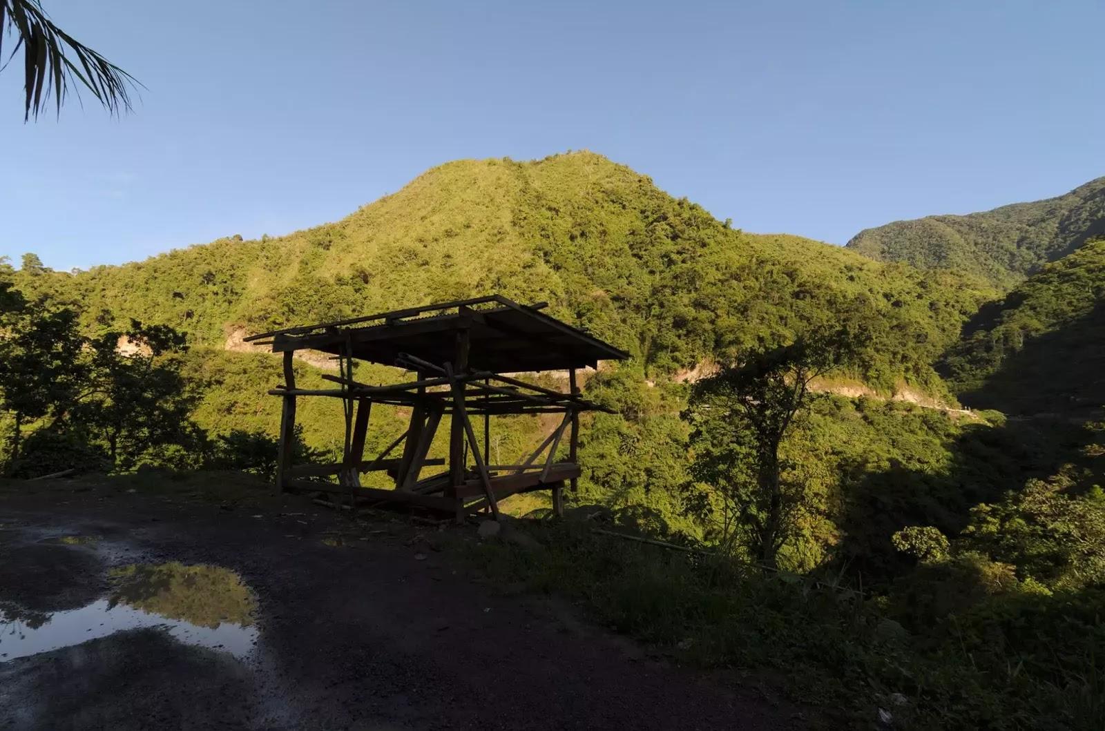Bangaan Road Ifugao Cordillera Administrative Region Philippines