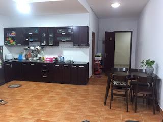 nhà bếp chung cư peridot 3 phòng ngủ quận 8