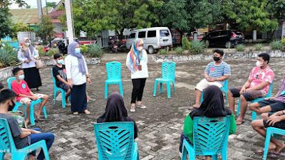 Perketat Protokol Kesehatan, 62 Anak di Sidrap Terima Bantuan dari Balai Anak Toddopuli Makassar