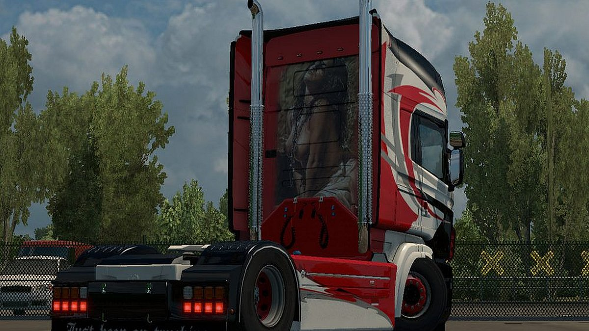 Scania RJL Metal Lion skin
