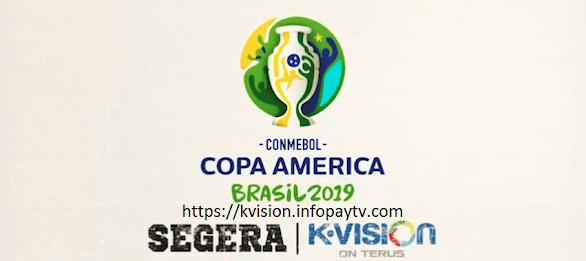 K-Vision Siarkan Copa America 2019 Brazil