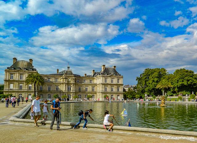 Grand Bassin dos Jardins de Luxemburgo, Paris
