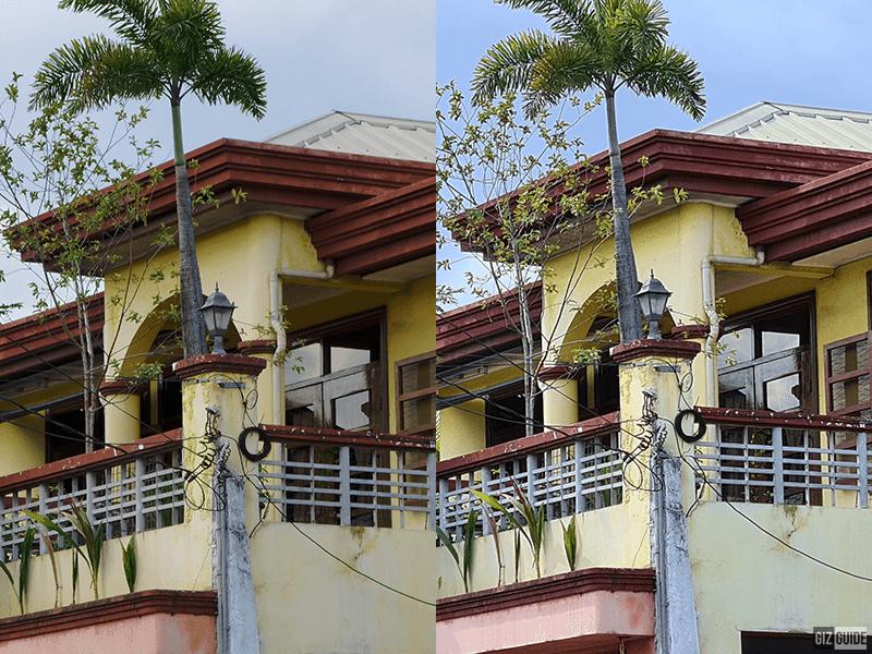 P40 Pro vs S20+ 5x zoom