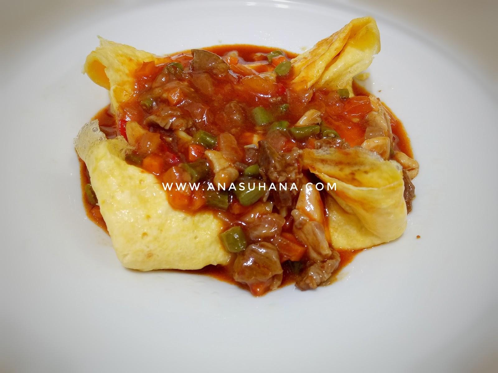 Resipi : Telur Bistik | Mudah dan Sedap