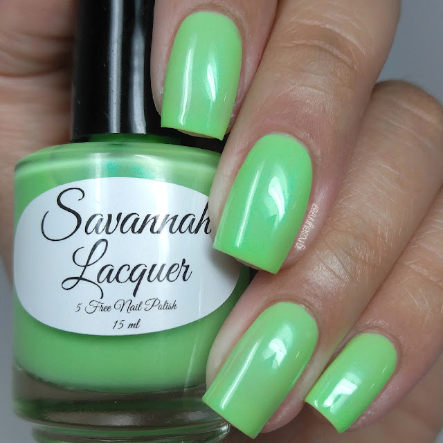 Savannah Lacquer - Key Lime Taffy