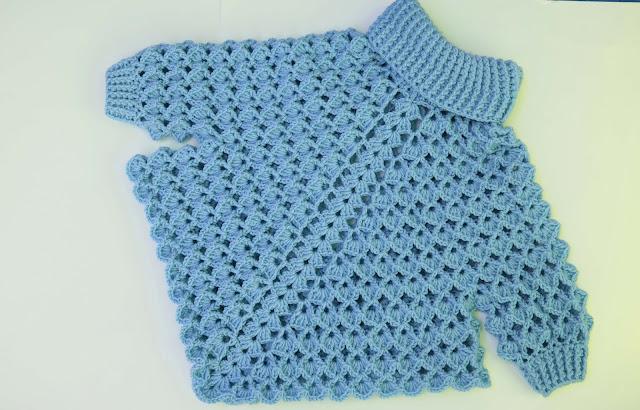 6 -Crochet Imagen Poncho con mangas a crochet y ganchillo por Majovel Crochet