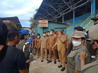 Tinjau Relokasi Pasar, Wali Kota Sibolga: Bila Persoalan Tidak Selesai Dalam Seminggu, Kepala Dinas Terkait Saya Copot