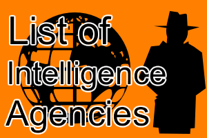 world intelligence agencies gk
