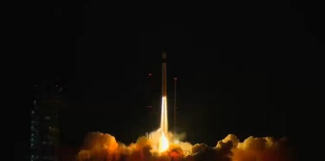 Sentinel-3A liftoff. Credit: ESA