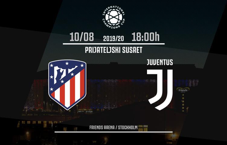ICC 2019/20 / III utakmica / Atletico M. - Juventus, subota, 18:00h
