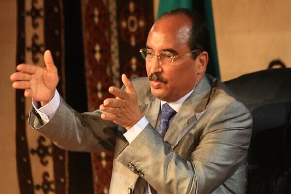 الرئيس الموريتاني الأسبق محمد عبد العزيز