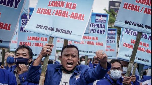 Gegara KLB Ilegal, Koalisi Rakyat Selamatkan Demokrasi Gelar Aksi Pecat Moeldoko di Medan hingga Jakarta