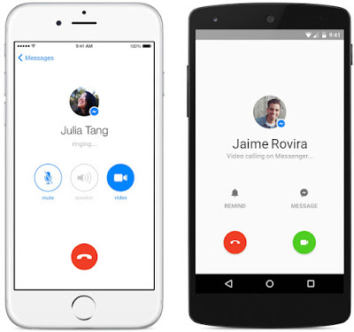How to make a voice call in Facebook Messenger