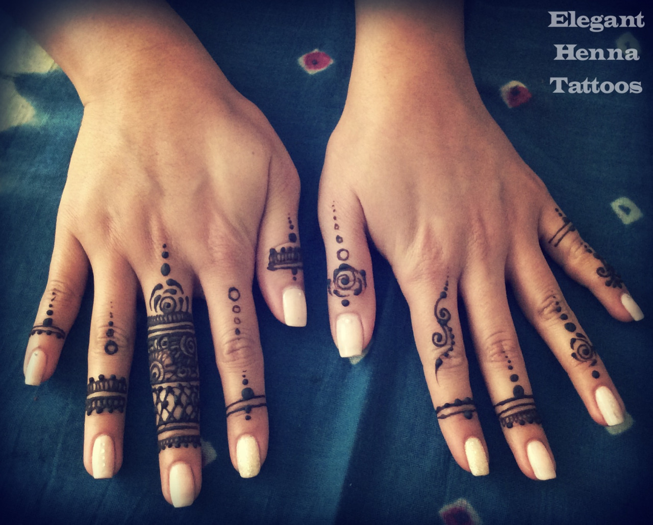 Elegant Henna Ring Mehndi Designs