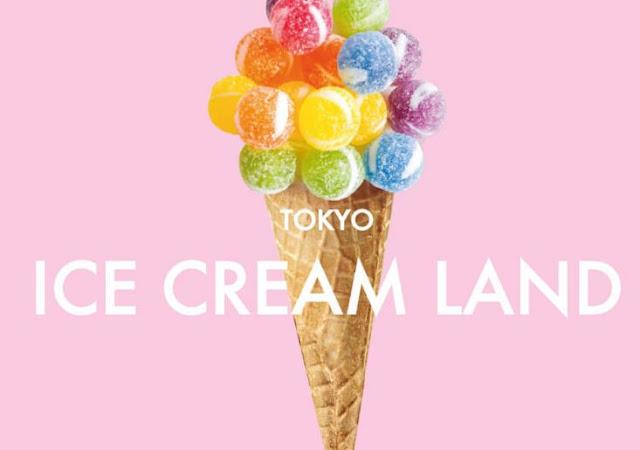 Nikmati Spot Foto Termanis di TOKYO ICE CREAM LAND!