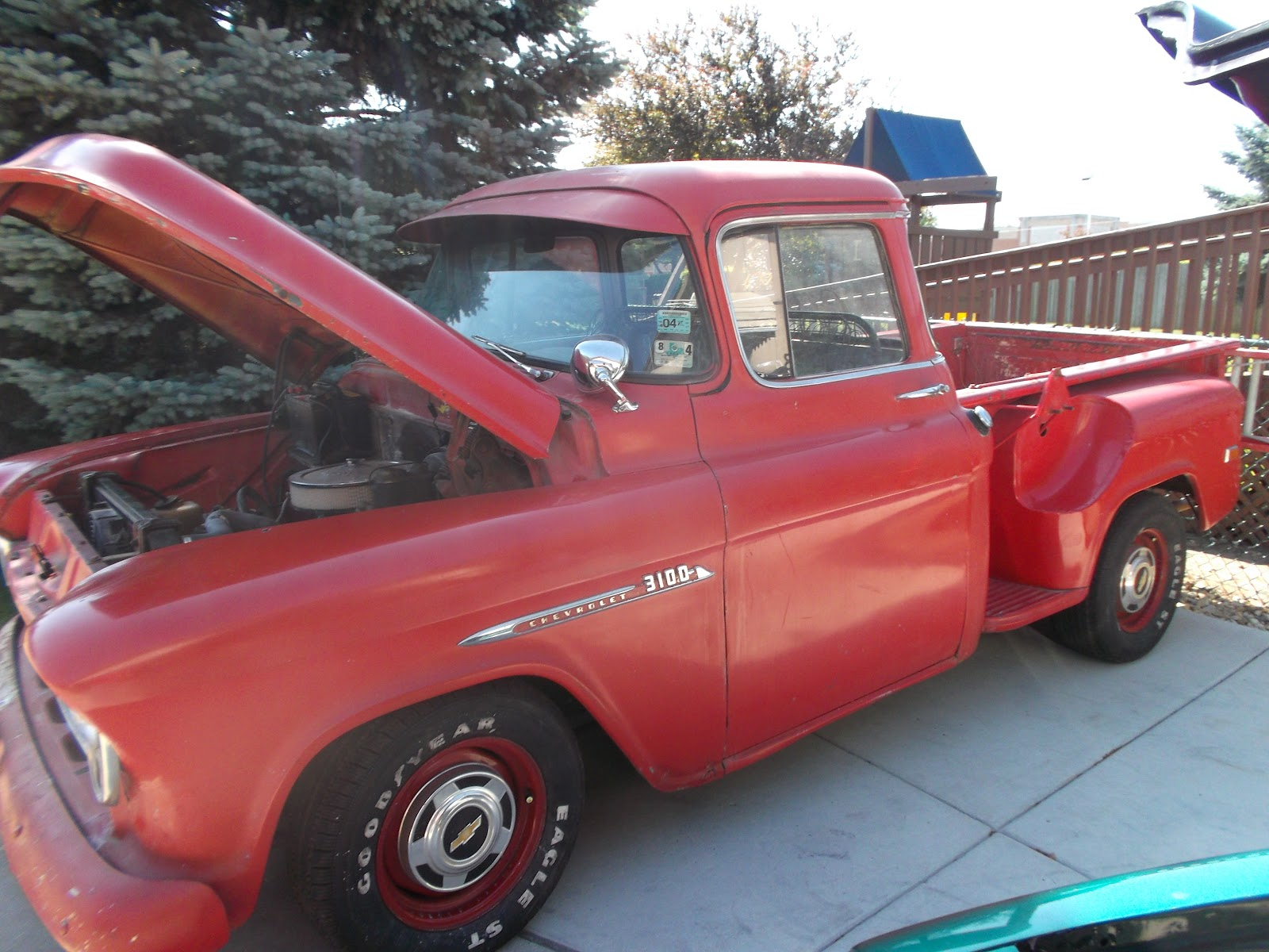 slackers cc chicago cool 55 chevy truck for sale. Black Bedroom Furniture Sets. Home Design Ideas