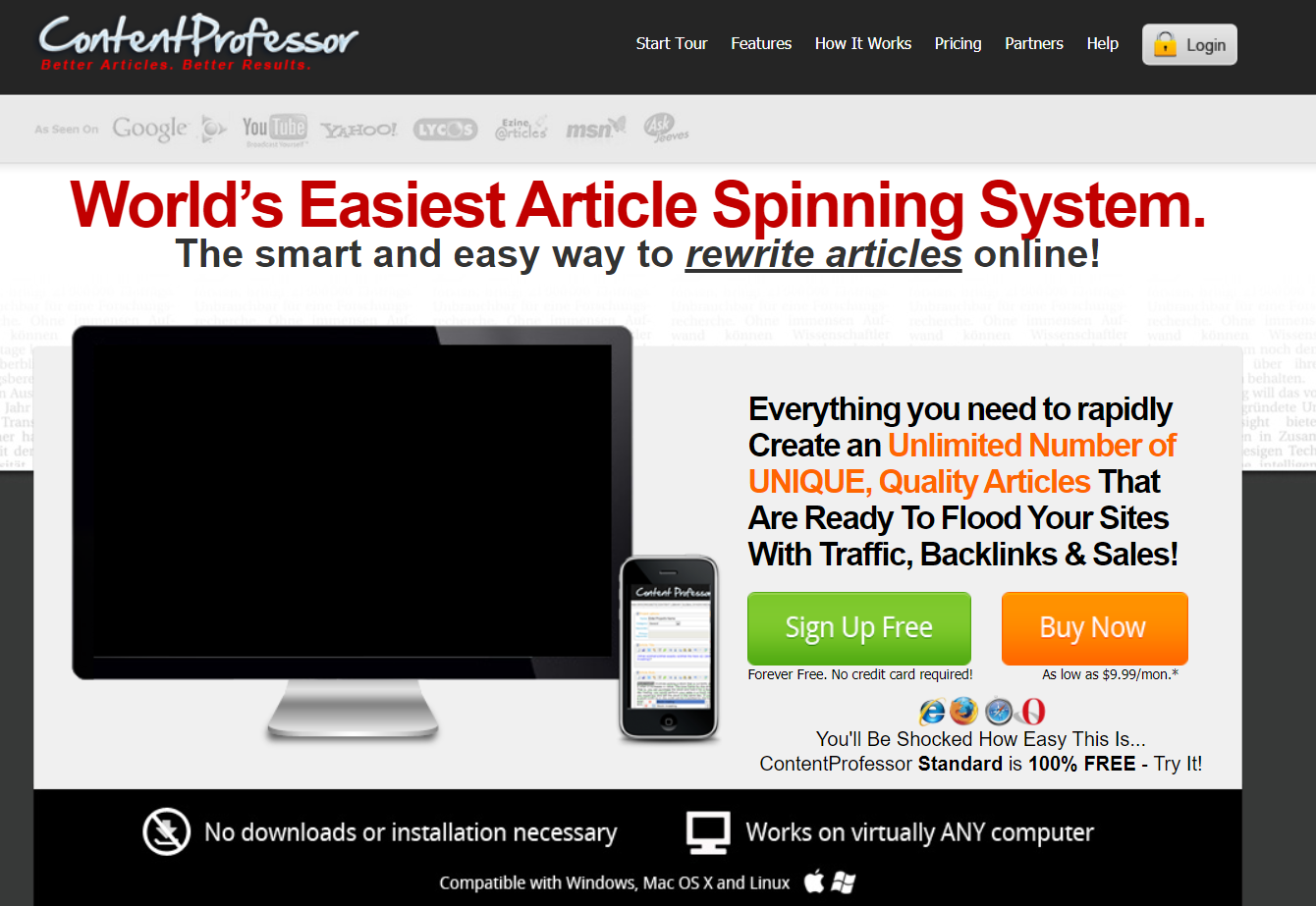 Content Professor Review - Best Paraphrasing Tools