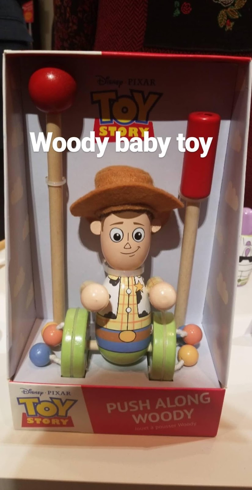 pixar toy story wooden baby toys