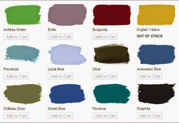 Marzua pintura de tiza muebles pintados sin lijar ni - Mesas pintadas a la tiza ...