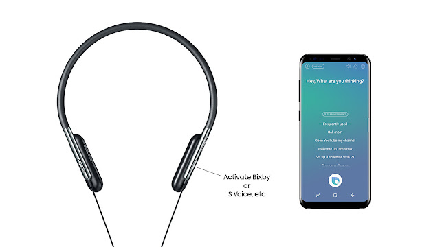 Samsung introduces U Flex wireless headphones