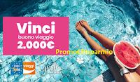 Logo Eurospin Viaggi ''Il gusto della tua estate'' : vinci gratis un buono vacanza da 2.000€ o da 25€