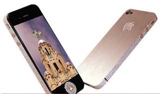 Stuart Hughes iPhone 4 Diamond Rose Edition Ponsel Termahal Di Tahun 2020