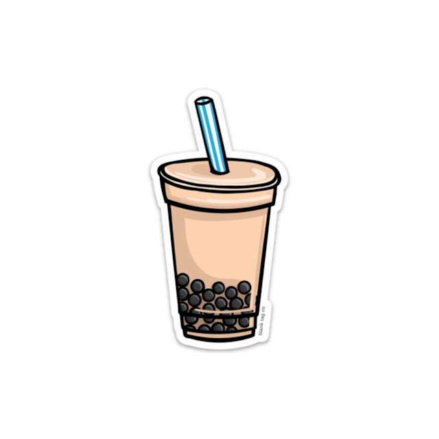 wallpaper boba milk tea