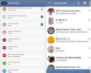 Download BBM MOD IOS6 Base v2.13.0.26