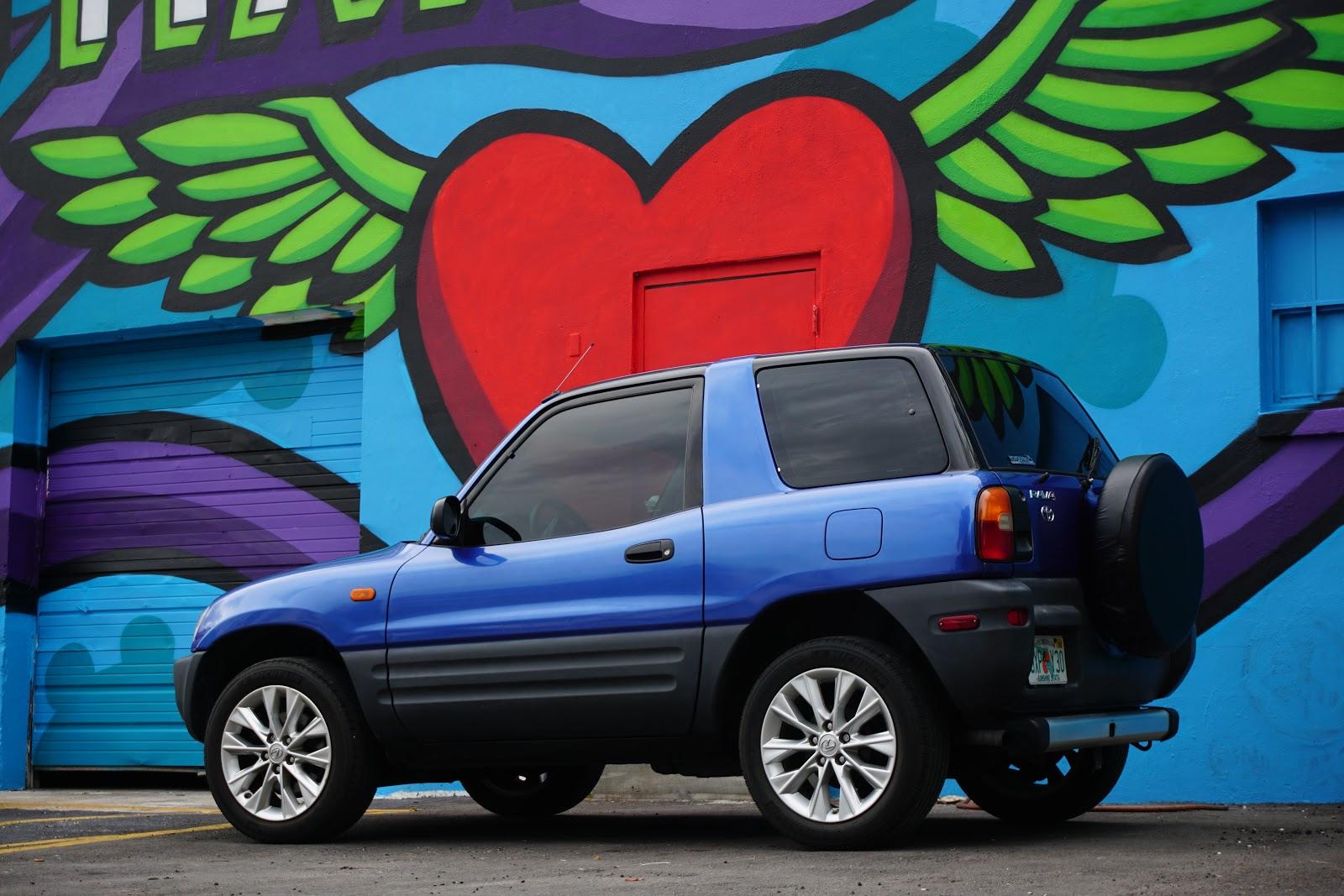 Little Blue Coupe: 1996 Toyota RAV4