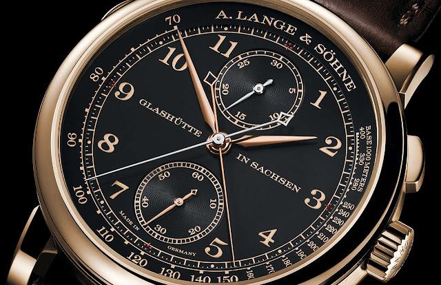 """A. Lange & Söhne 1815 Rattrapante Honeygold """"Homage to F. A. Lange"""" Ref. 425.050"""